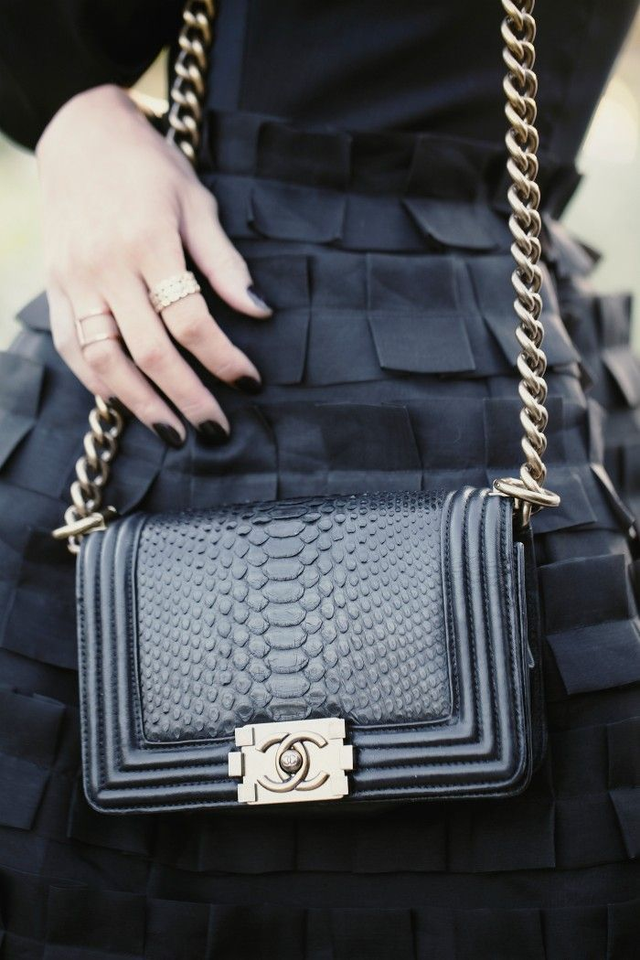 Own a Chanel bag (not one of those quilted ones everyone has something different and unique like this)