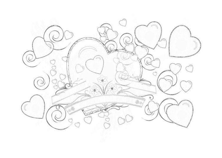 Valentinstag 14 Valentinstag Ausmalbilder Ausmalbilder Ausmalbilder Kinder