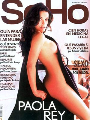 Desnuda Paola. rey.