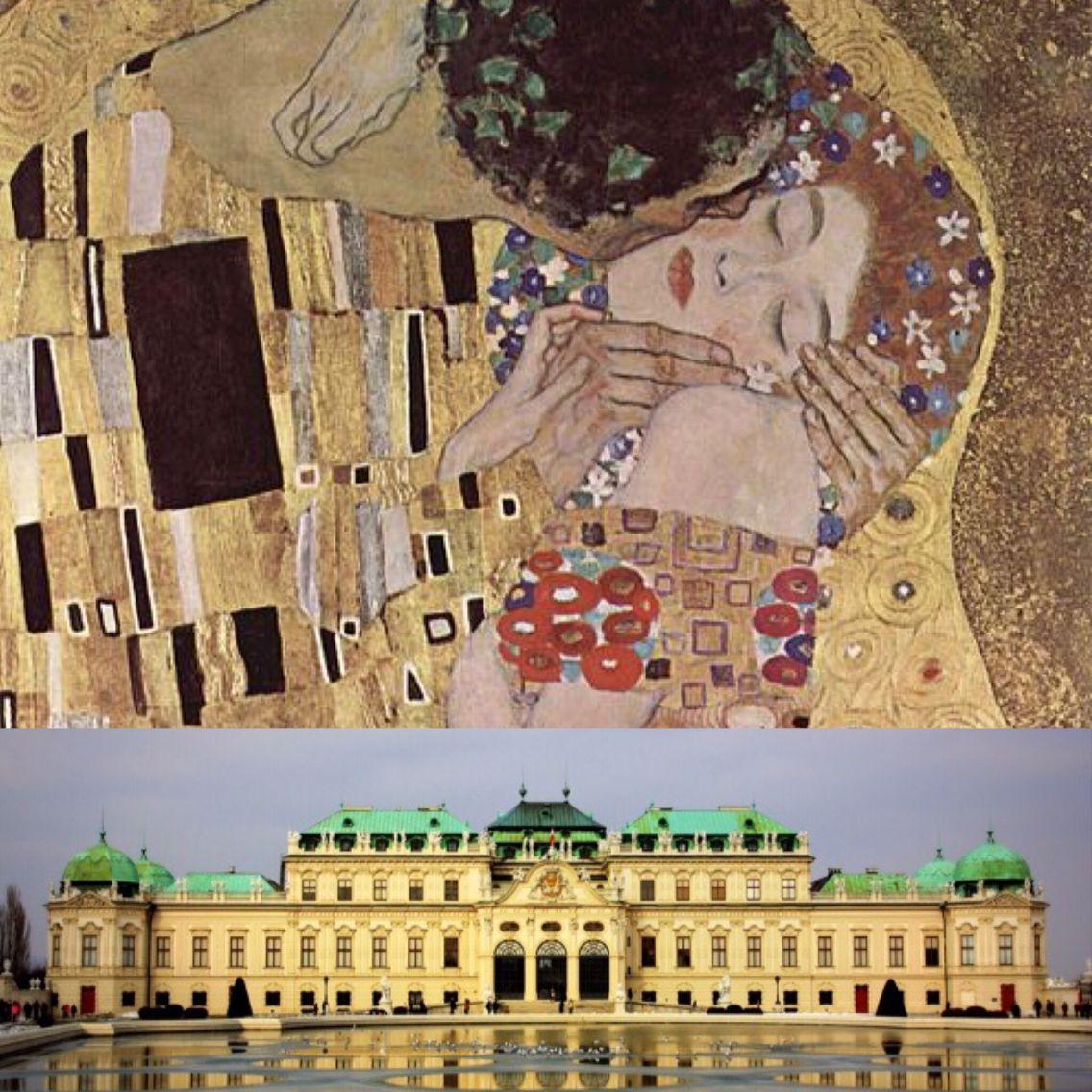 Osterreichische Galerie Belvedere Museum In Vienna Austria Arte Klimt Gustav Klimt Klimt