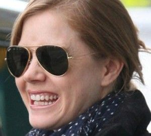 best deal on ray ban aviators  Amy Adams wearing Ray Ban aviators