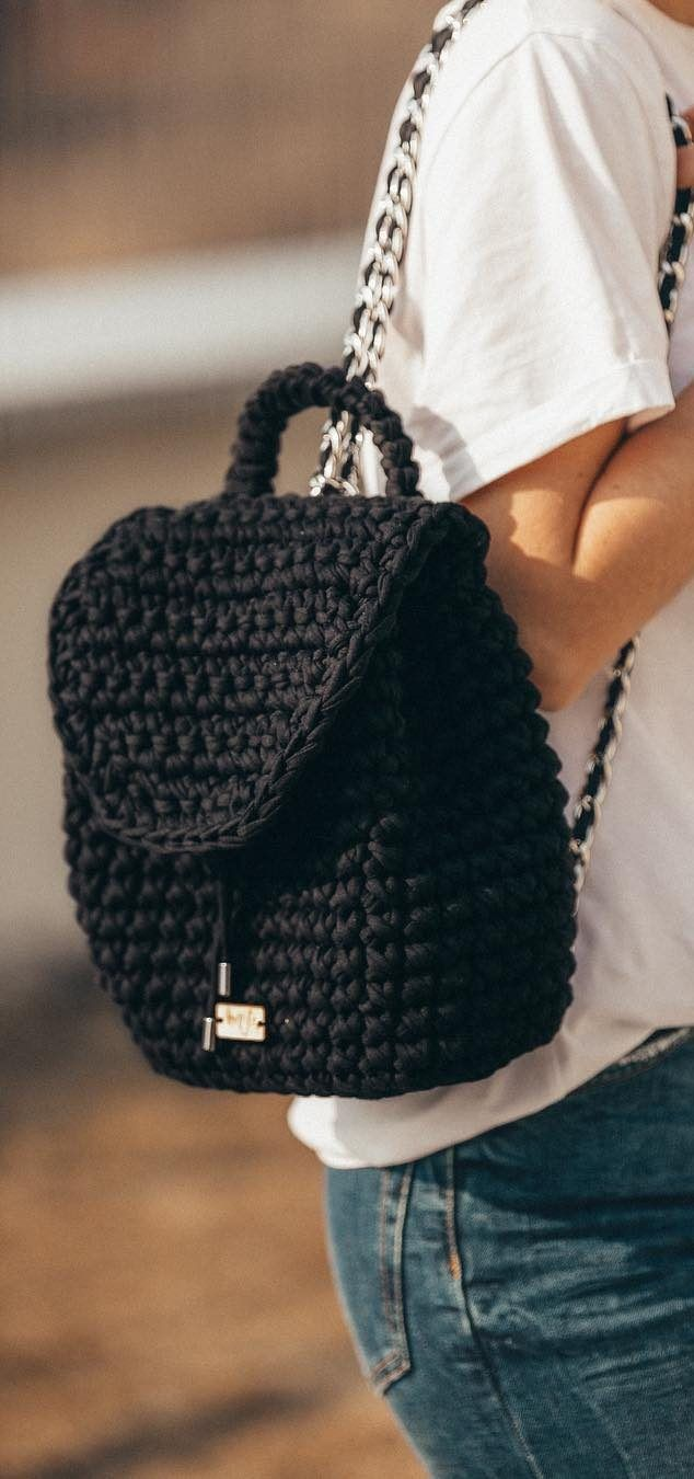 30+ Best And Creative Crochet Bag Patterns 2019 - Page 30 of 39