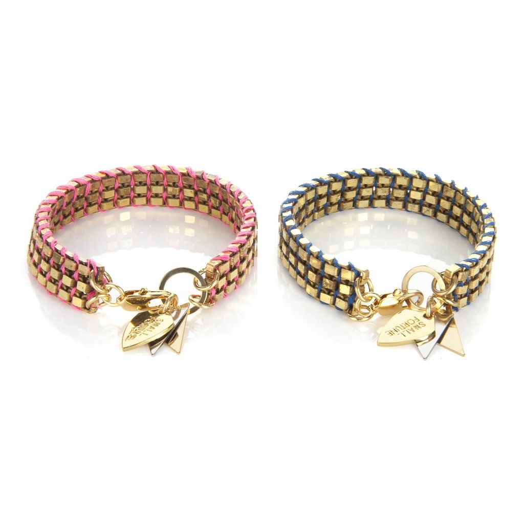 Charm & Chain | 3-Strand Disco Bracelet, Assorted Colors - New Arrivals - Jewelry