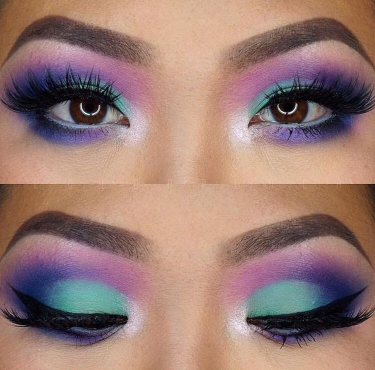 Morphed Brushes 36b Palette With Images Eye Makeup 80s Makeup