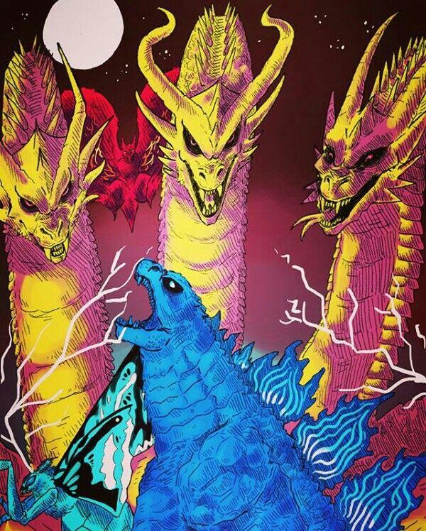 Pin oleh M.Fuad Arifin di Godzilla (Dengan gambar)