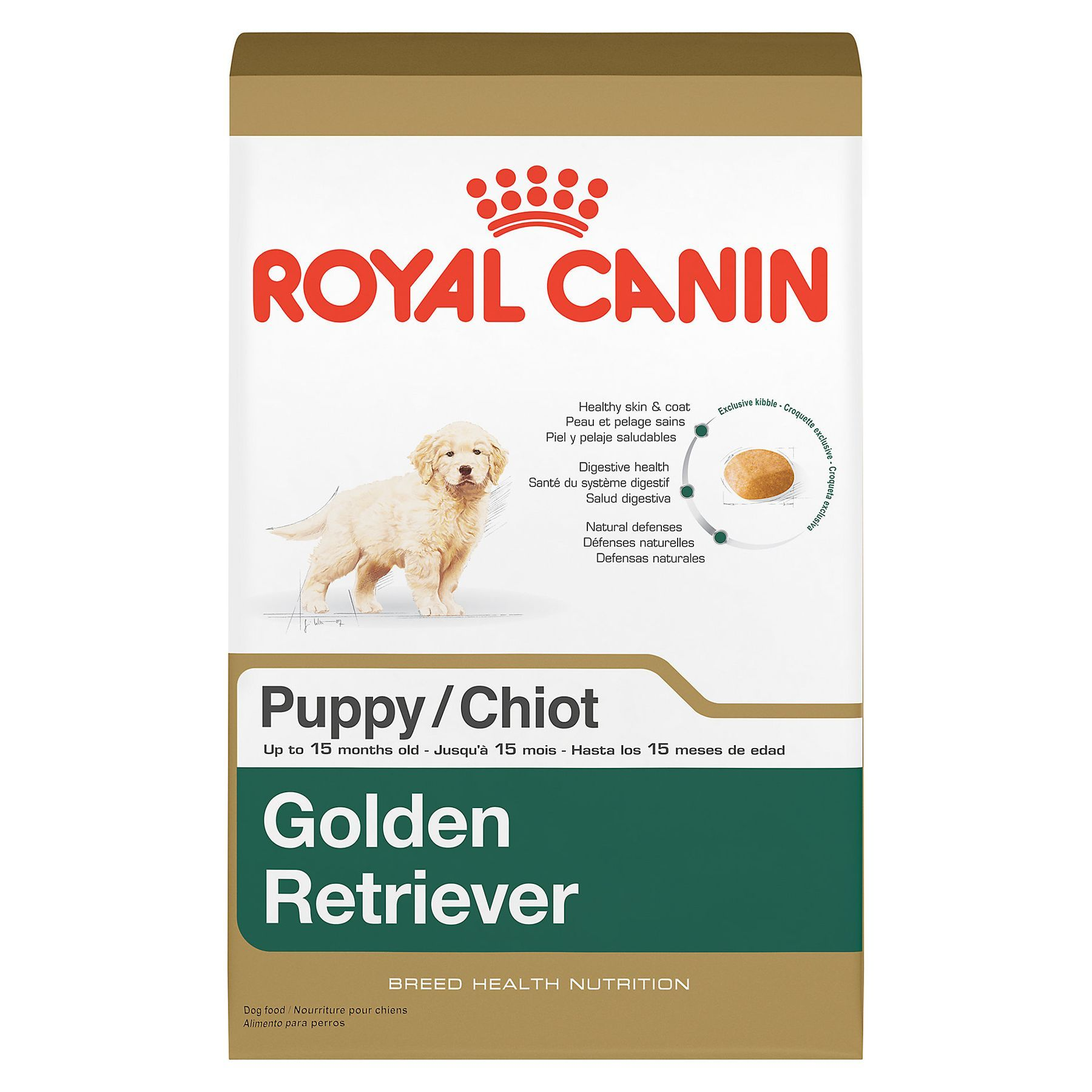 Royal Canin Breed Health Nutrition Golden Retriever Puppy Food
