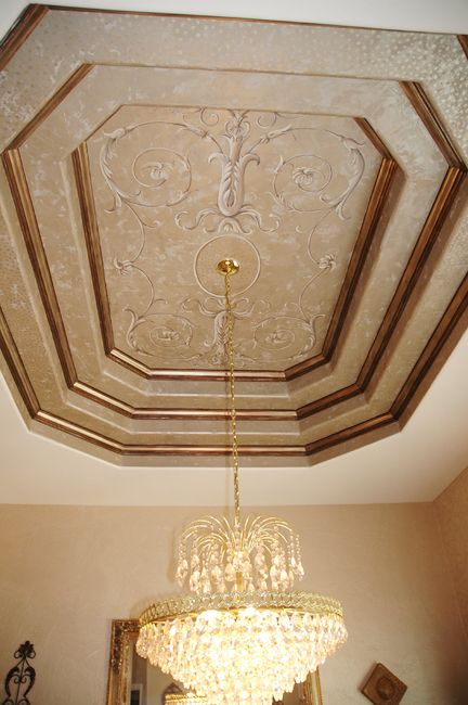 Carmen Illustrates Painted Ceiling Ceiling Decor Colored Ceiling