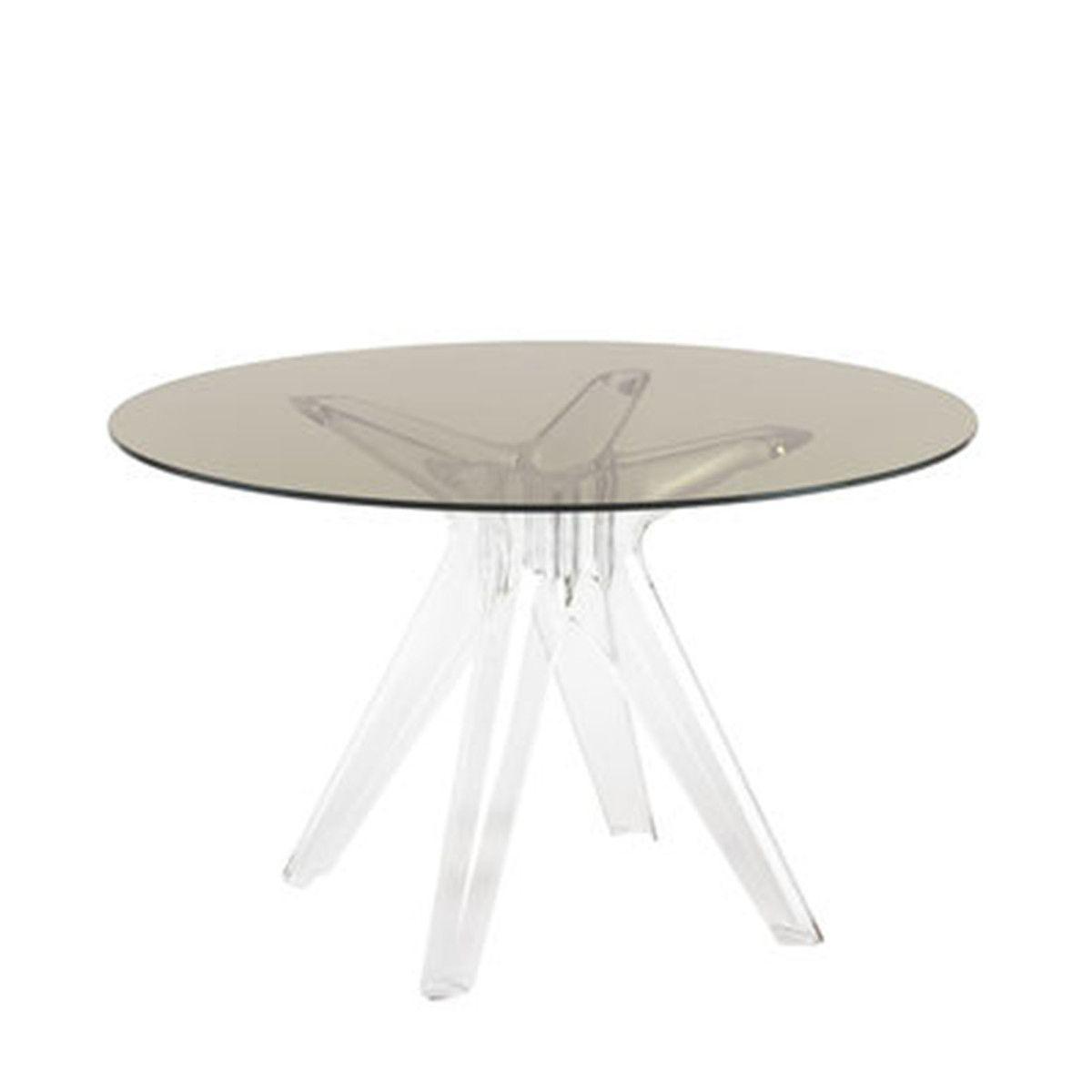 Sir Gio Tisch rund transparent-fume Jetzt bestellen unter: https ...