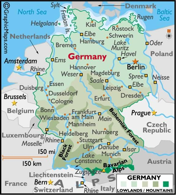 Pictures Of Rhine River In Germany Rhine River Germany Time - Germany map rhine