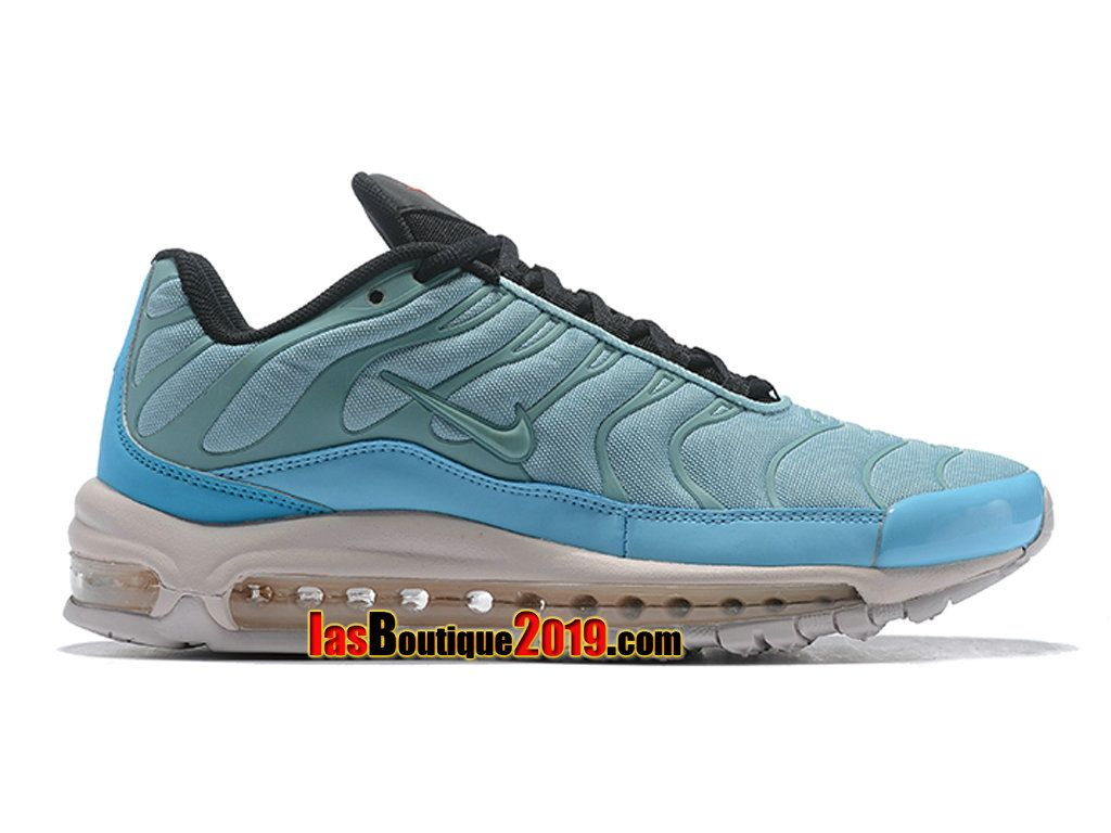 huge selection of b58b9 d1e13 Nike Air Max 97 Plus Mica Green AH8144-300 Chaussure Nike TN 2018 Pas Cher