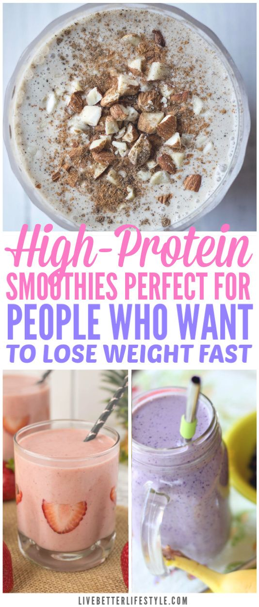 10 Best Protein Smoothies To Lose Weight