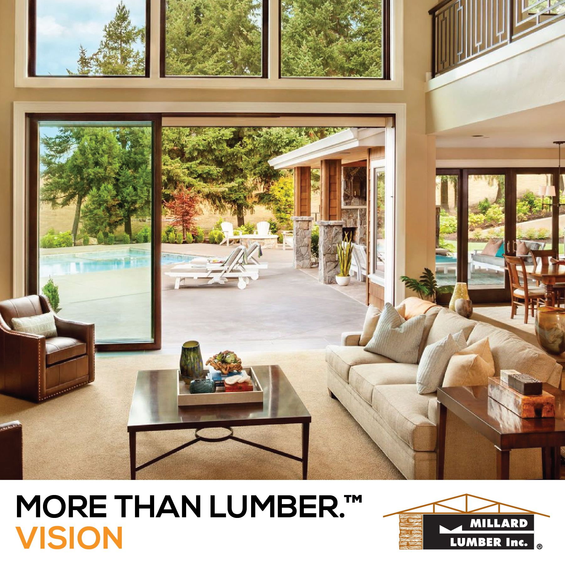 Visit Millard Lumber to discover all the ways we are #MoreThanLumber