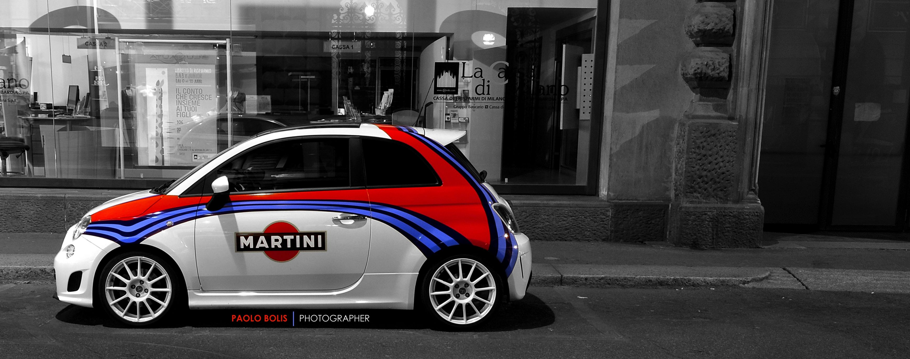 Fiat500 Martini Fiat 500 Fiat Abarth Fahrzeugbeschriftung