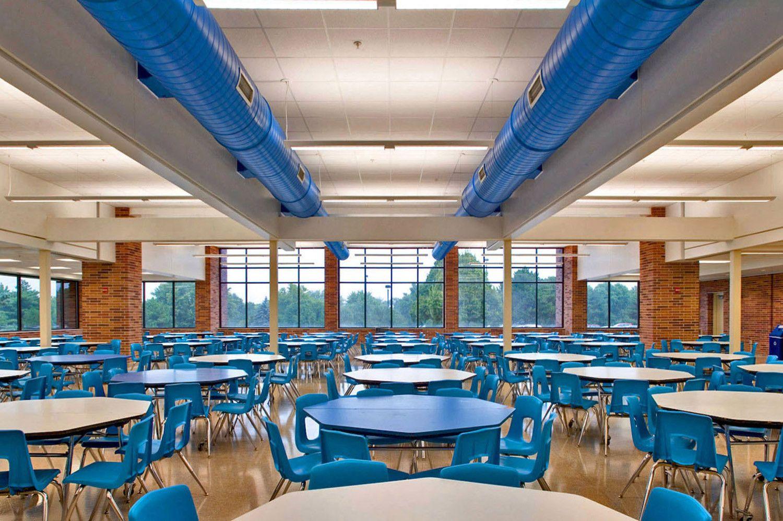 East High School Cafeteria Lincoln Nebraska