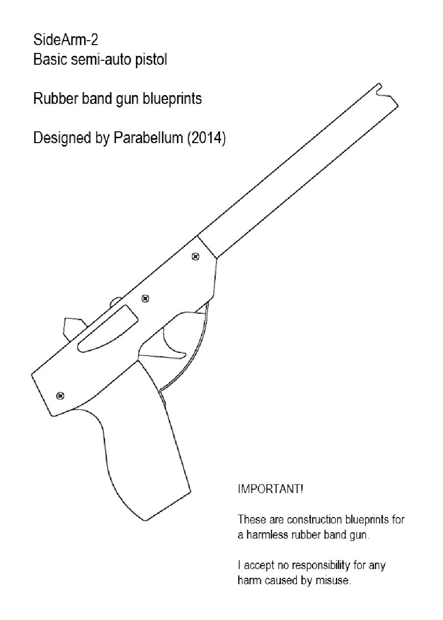 Sidearm 2 rubber band gun gadgets pinterest rubber band gun sidearm 2 rubber band gun malvernweather Image collections