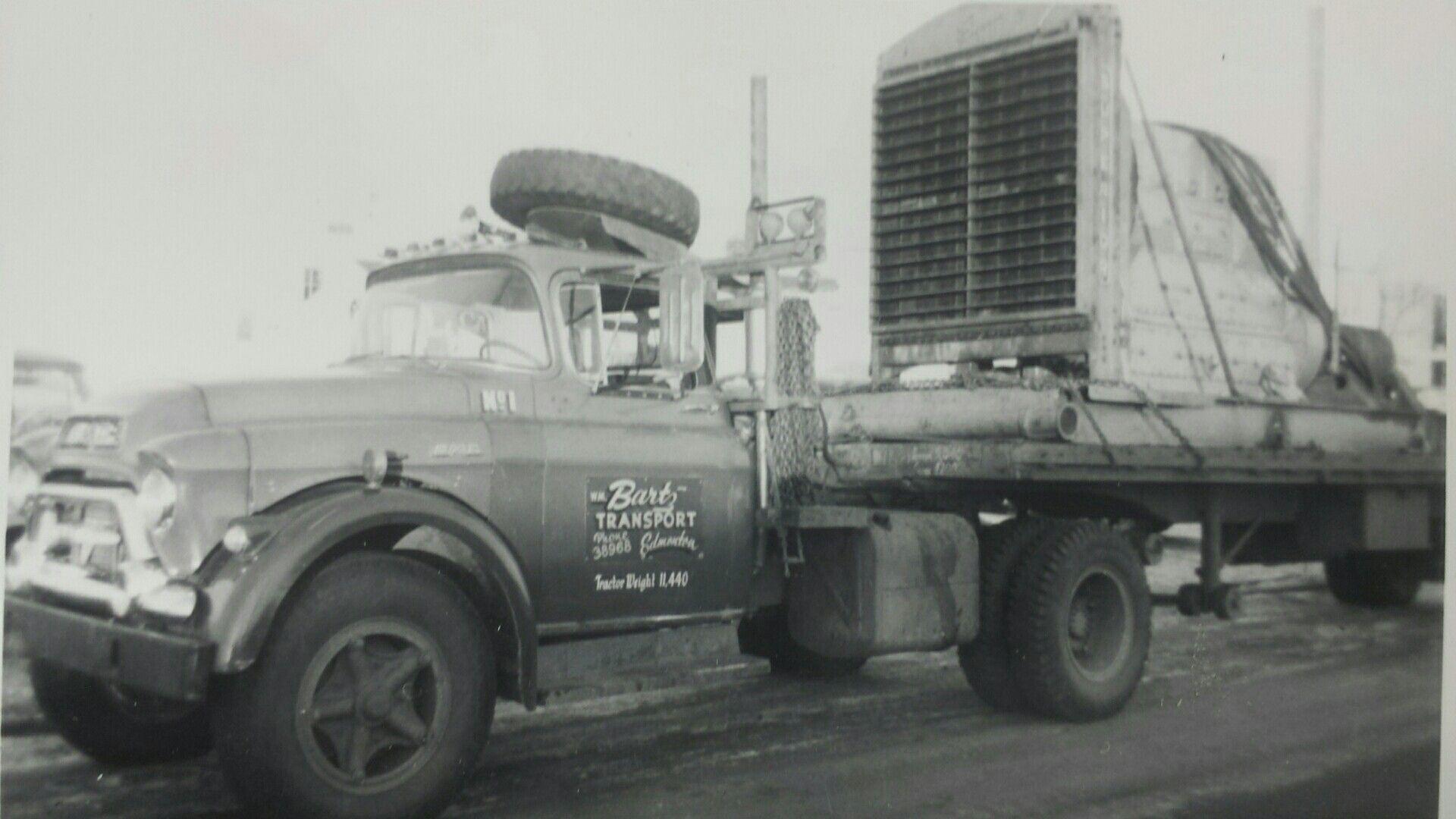 Bartz Transport Edmonton Alberta Vintage Trucks Heavy Duty Trucks Gmc Trucks