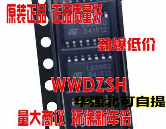 10pcs/lot Bridge Drivers L6386D L6386 SOP-14 original authentic - why sop is used