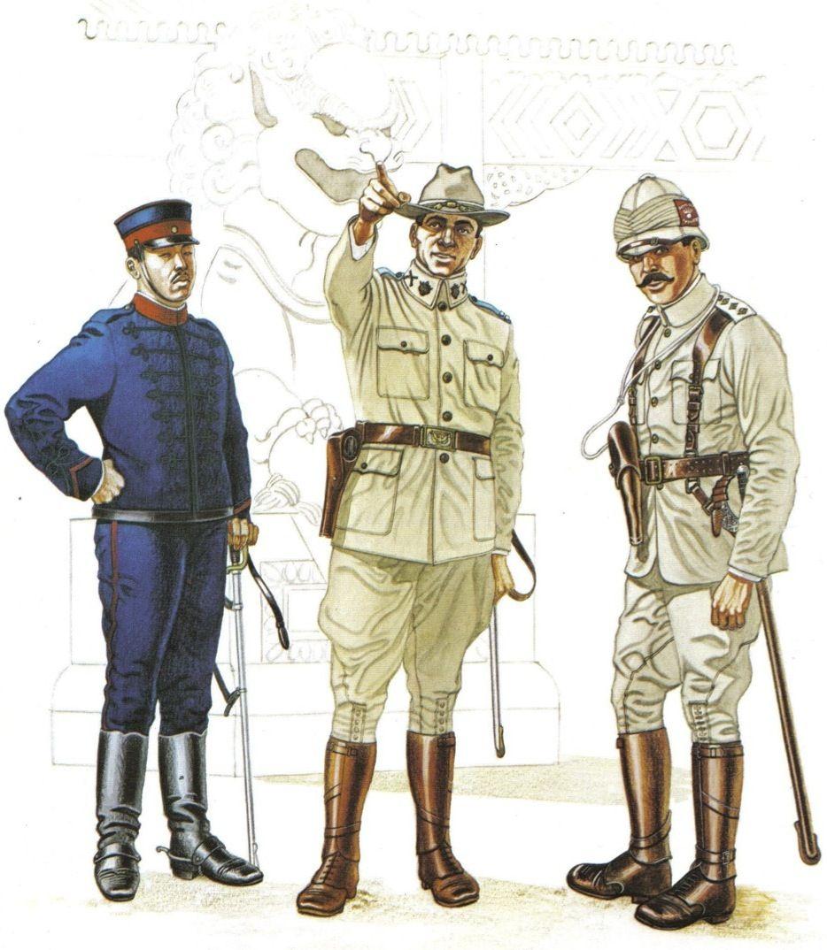 Resultat d'imatges de british army in boxer rebellion