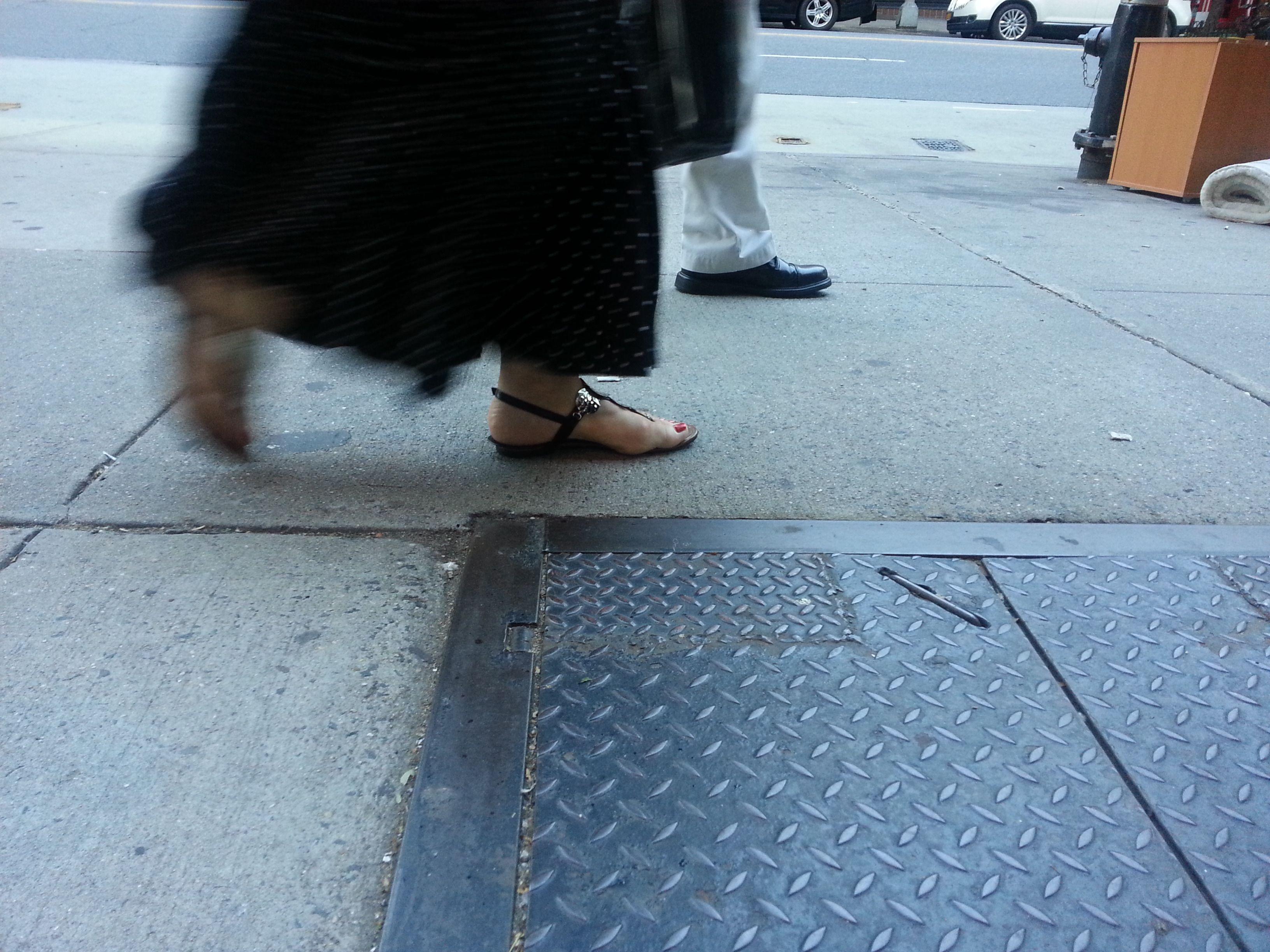 Manhattan sidewalk series
