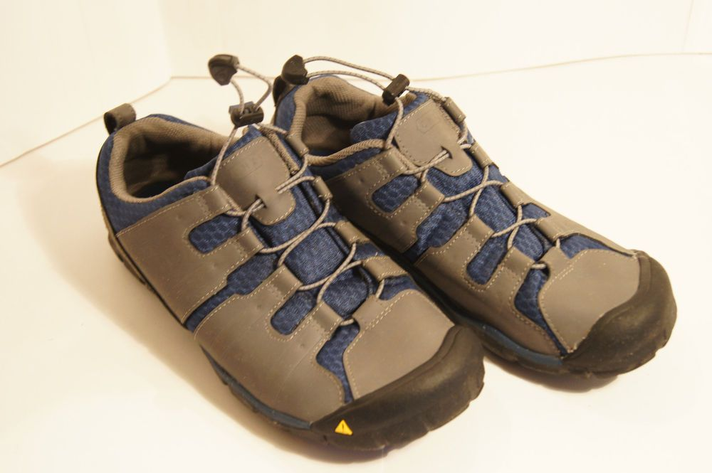 EUC KEEN SPORT OUTDOOR SHOE HAVEN CNX GREY & BLUE MENS SIZE 6 ...