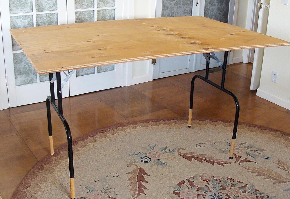 metal table legs home depot Folding table, Diy sewing