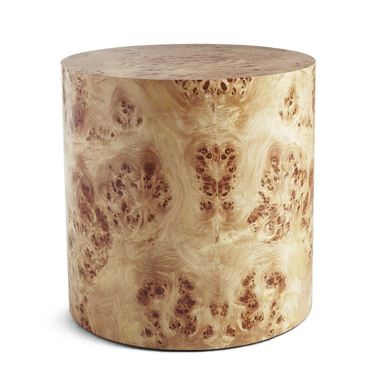 Our Love For Burl Wood Has Been Reignited Burled Wood Furniture Side Table Wood Burled Wood