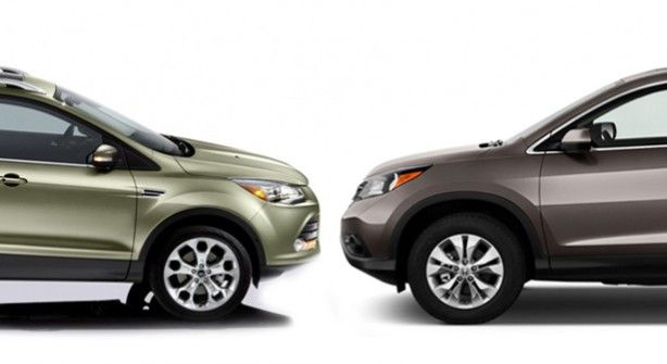 Ford Escape Vs Honda Cr V Compare