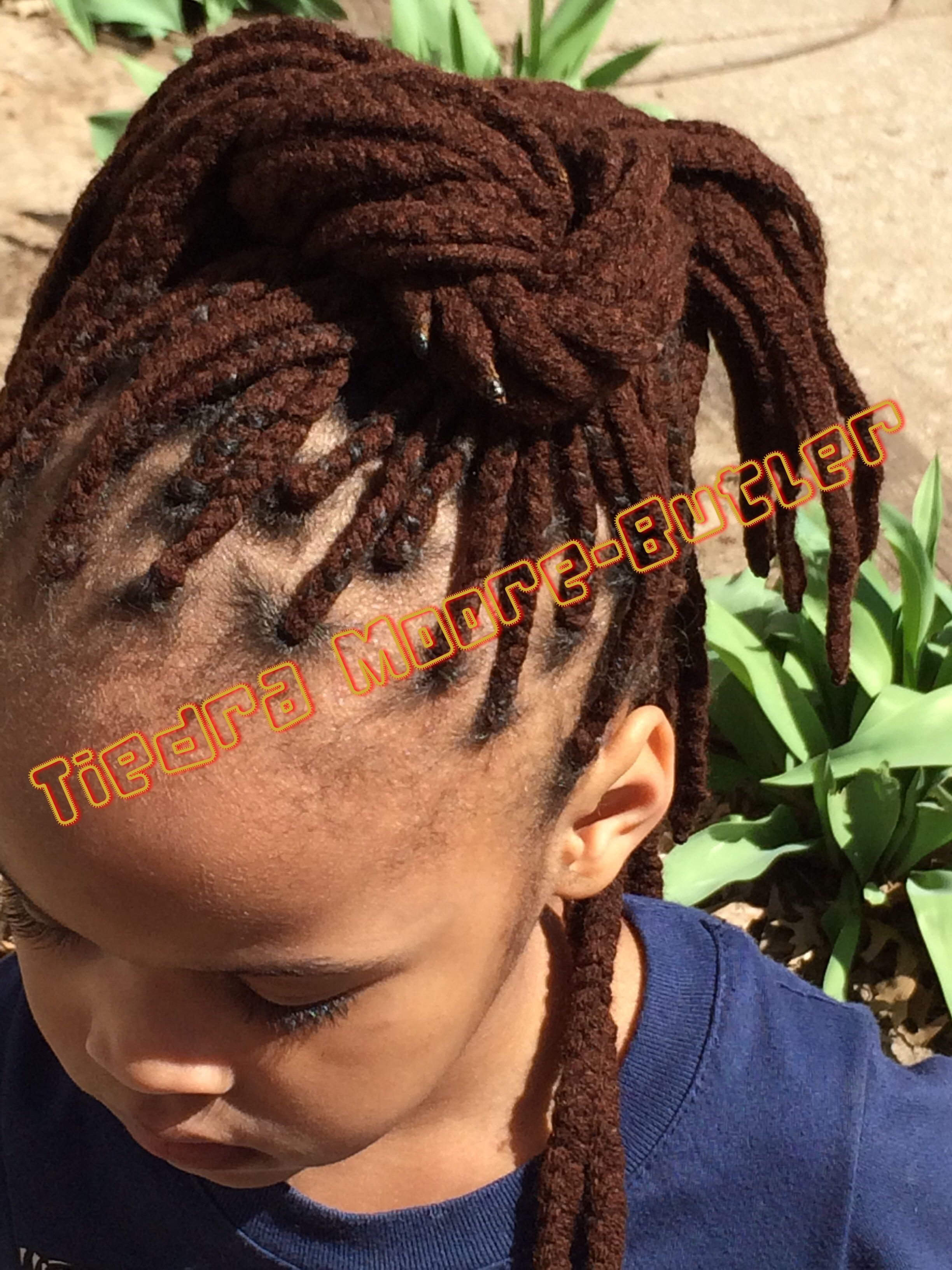 Yarn braids Pigtails and plaits Pinterest