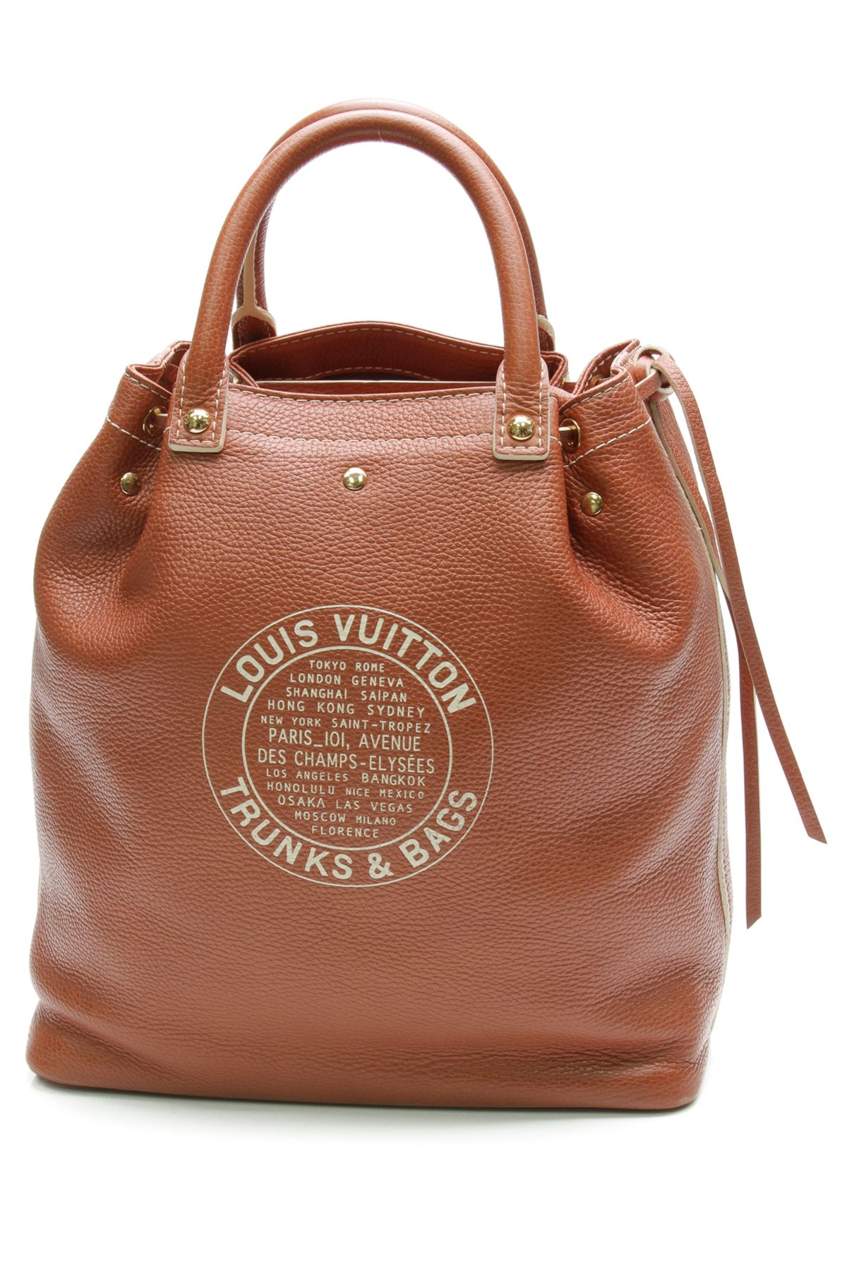 df300839e86b Louis Vuitton Brown Leather Tobango