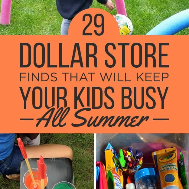 29 Dollar-Store Finds That Will Keep Your Kids Busy All ...