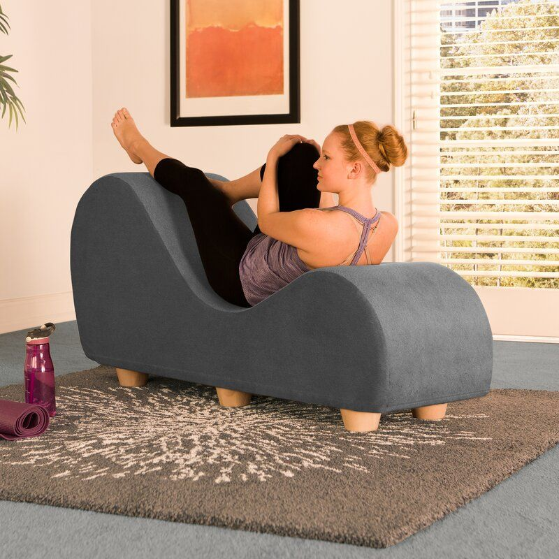Dilys Yoga Chaise Lounge In 2020 Chaise Lounge Chaise Modern Chaise Lounge