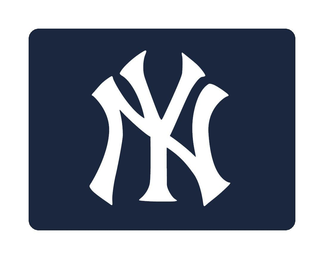 New York Yankees Baseball Mouse Pad New York Yankees Baseball Yankees Baseball New York Yankees
