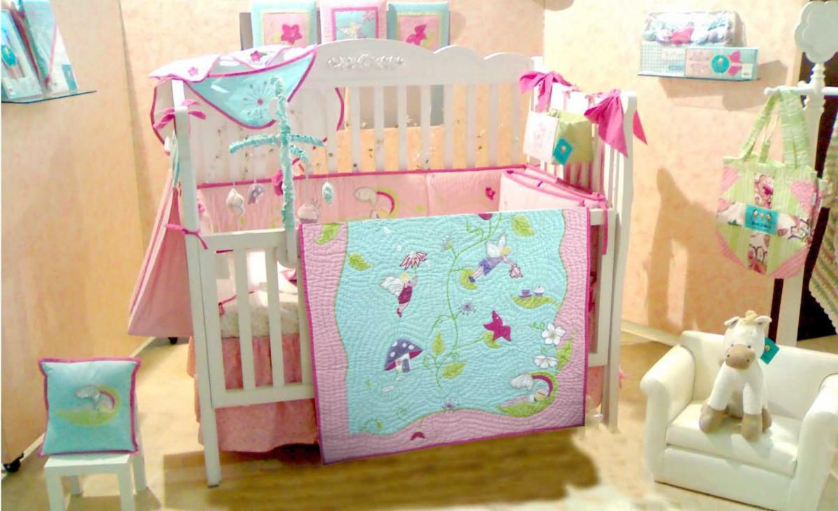 Fairy Nursery Bedding Home Infant S Accessories Crib Sets