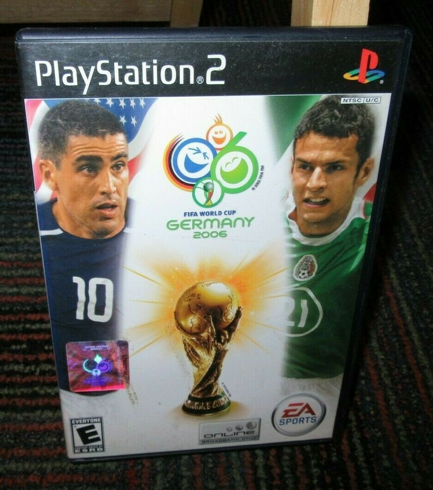 2006 Fifa World Cup Game For Playstation 2 Ps2 Case Game Manual Ea Sports World Cup Games Fifa World Cup Game Fifa