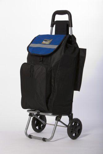 Roadrunner Folding Grocery Shopping Cart 2 Wheel Version