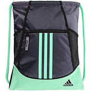 Amazon.com : adidas Alliance II Sackpack : Gym Drawstring Bags ...