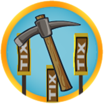 Pickaxe Badge Roblox Earn This Badge In Tix Factory Tycoon New