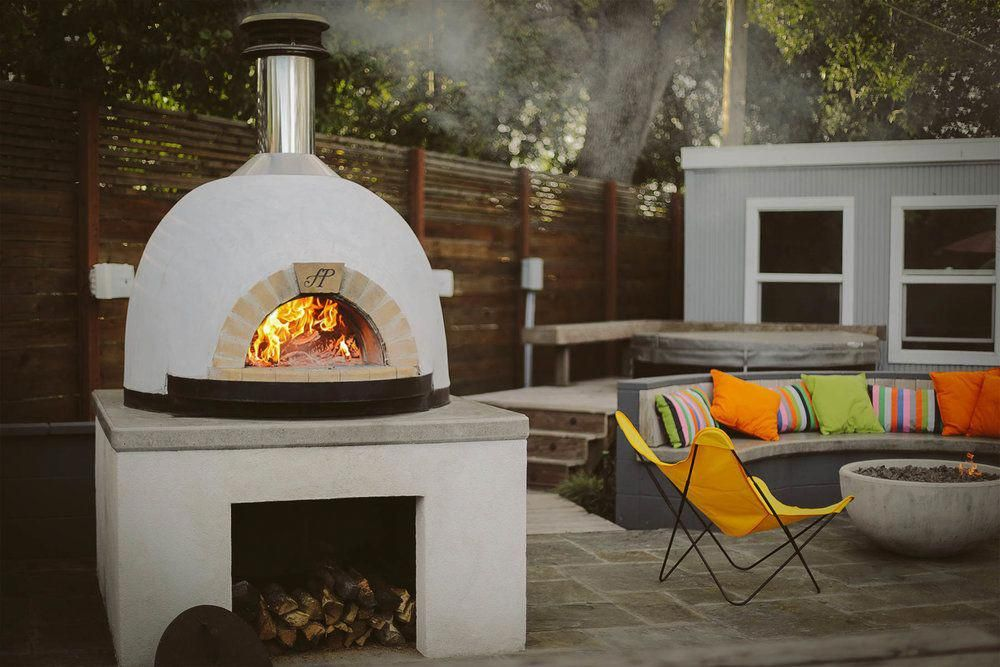 Forno Piombo Wood Fired Oven In Walnut Creek Backyard Ideation