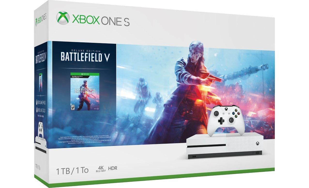 Xbox One S 1tb Console Battlefield V Bundle Includes Xbox