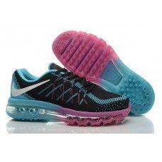 save off f71f2 db230 Goedkope Aanbieding Nike Air Max 2015 Flyknit Dames Sportschoenen Zwart  Paars Jade, NU 70%