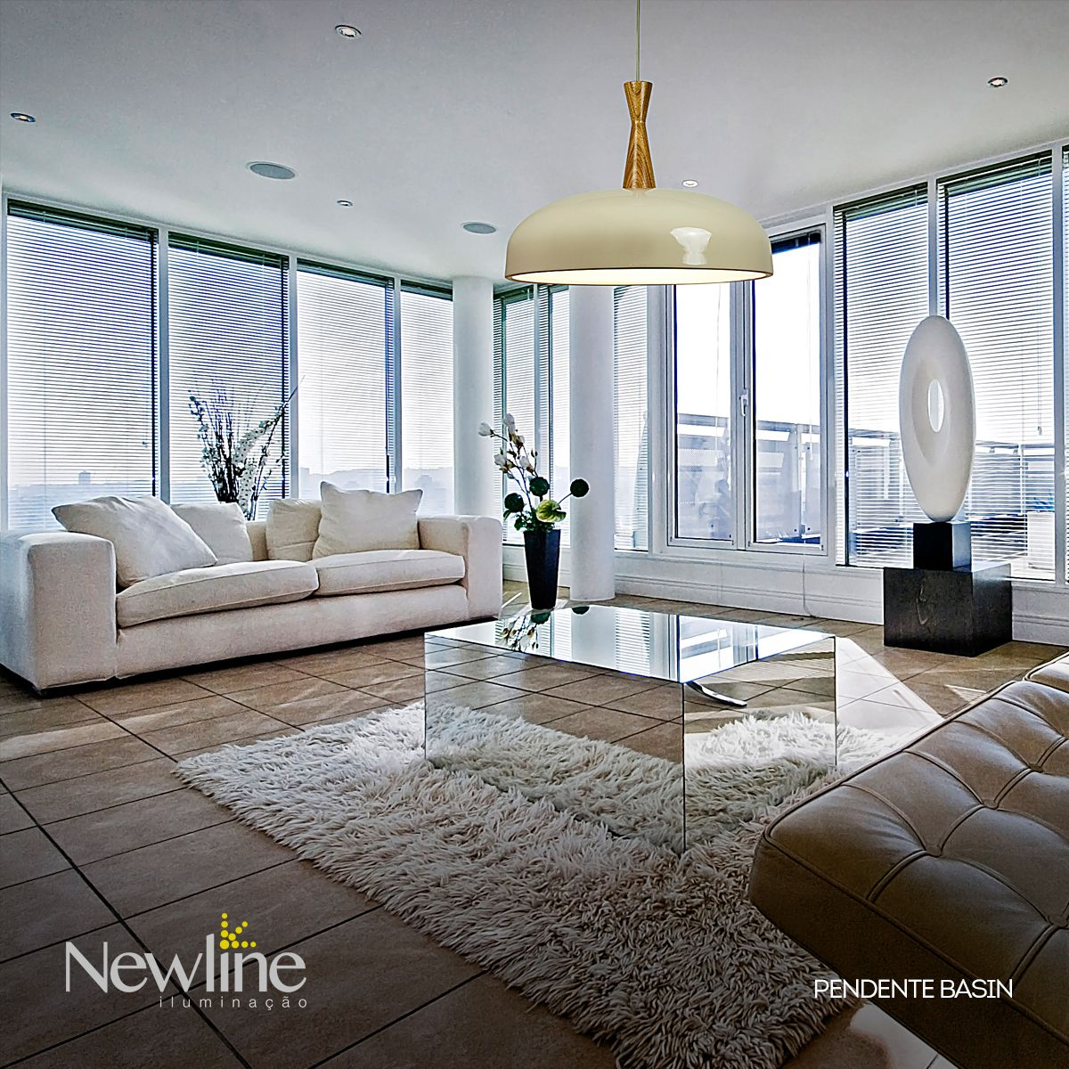Pendente Basin Projeto Ilumina O Para Sala De Estar Produto  # Muebles Personalizados Bujalance