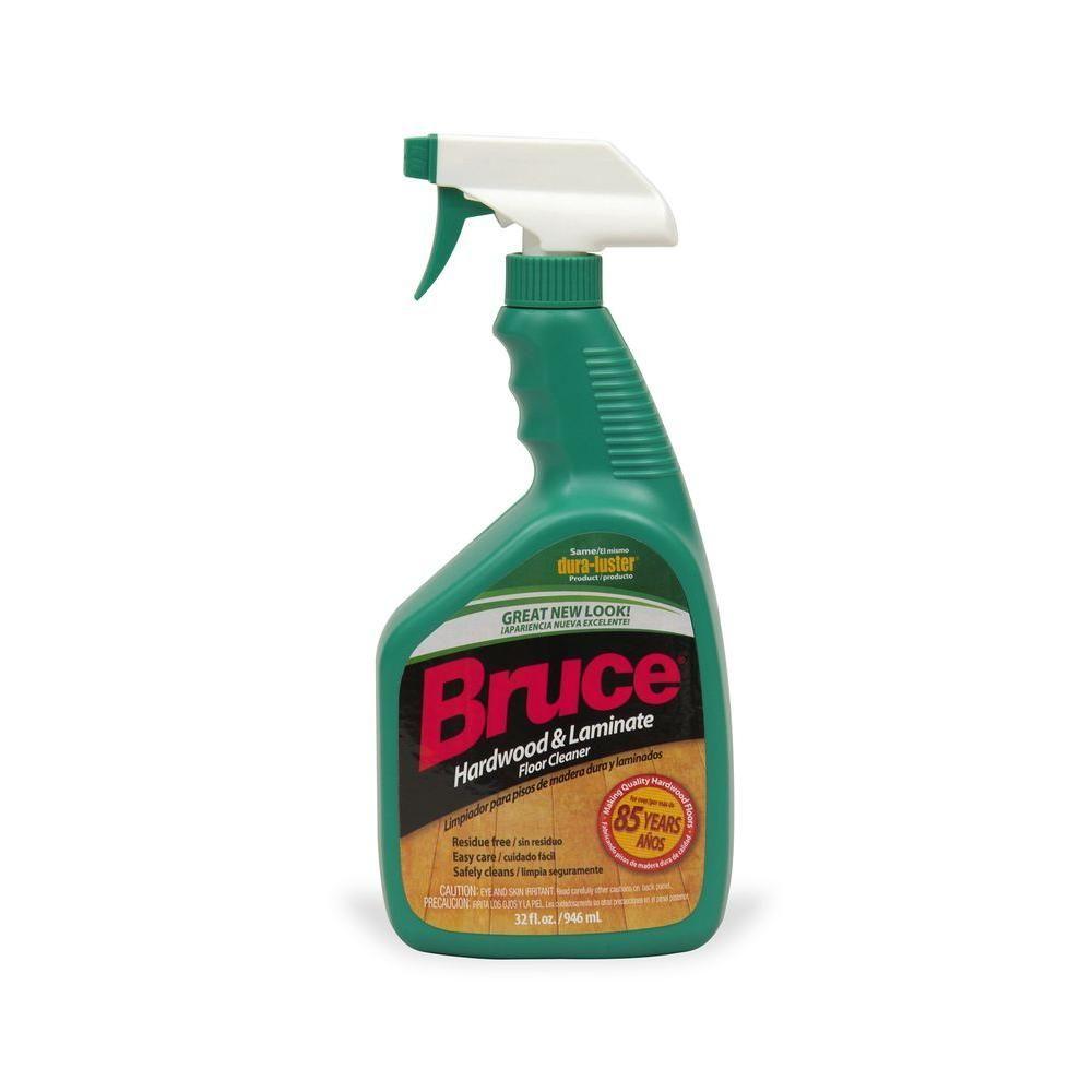 Bruce 32 Oz Hardwood And Laminate Floor Cleaner Trigger Spray Ws109 The Home Depot Laminate Flooring Cleaner Floor Cleaner Laminate Flooring