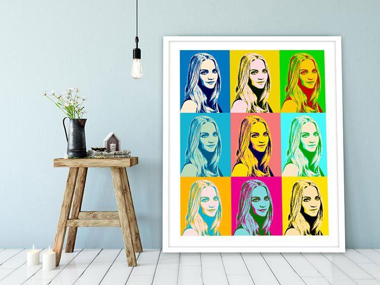 Pop Art vom eigenen Foto - Portraits auf Leinwand oder als Poster - einrichtung stil pop art