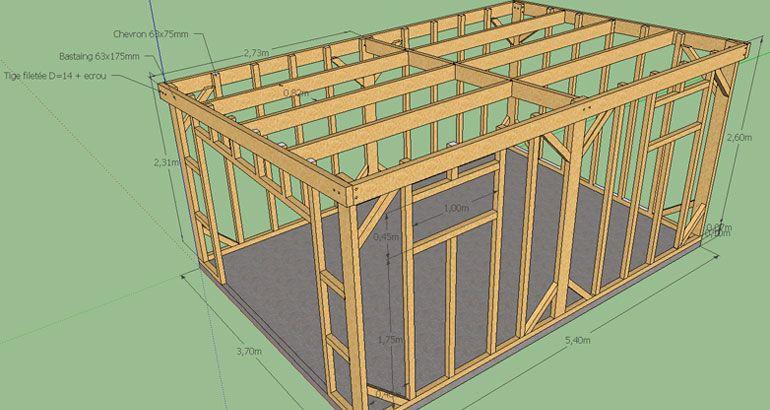 Cabane De Jardin Plan