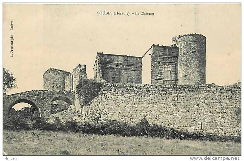 Herault chateau - Delcampe.net
