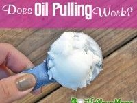 """Oil Pulling (which kills bacteria and whitens teeth) - How To: 1) put 1-2 tsp coconut oil in mouth and allow to melt 2) Swish for twenty minutes 3) Spit oil into TRASH CAN (since it's a solid at room temp it could clog your drains) 4) Rinse well with water (warm water rinses the best) 5) Brush well to remove any remaining plaque. *Blogger: """"I've noticed whiter teeth since starting oil pulling…I never have visible plaque on my teeth… at dental visits, they aren't able to scrape off any…"""