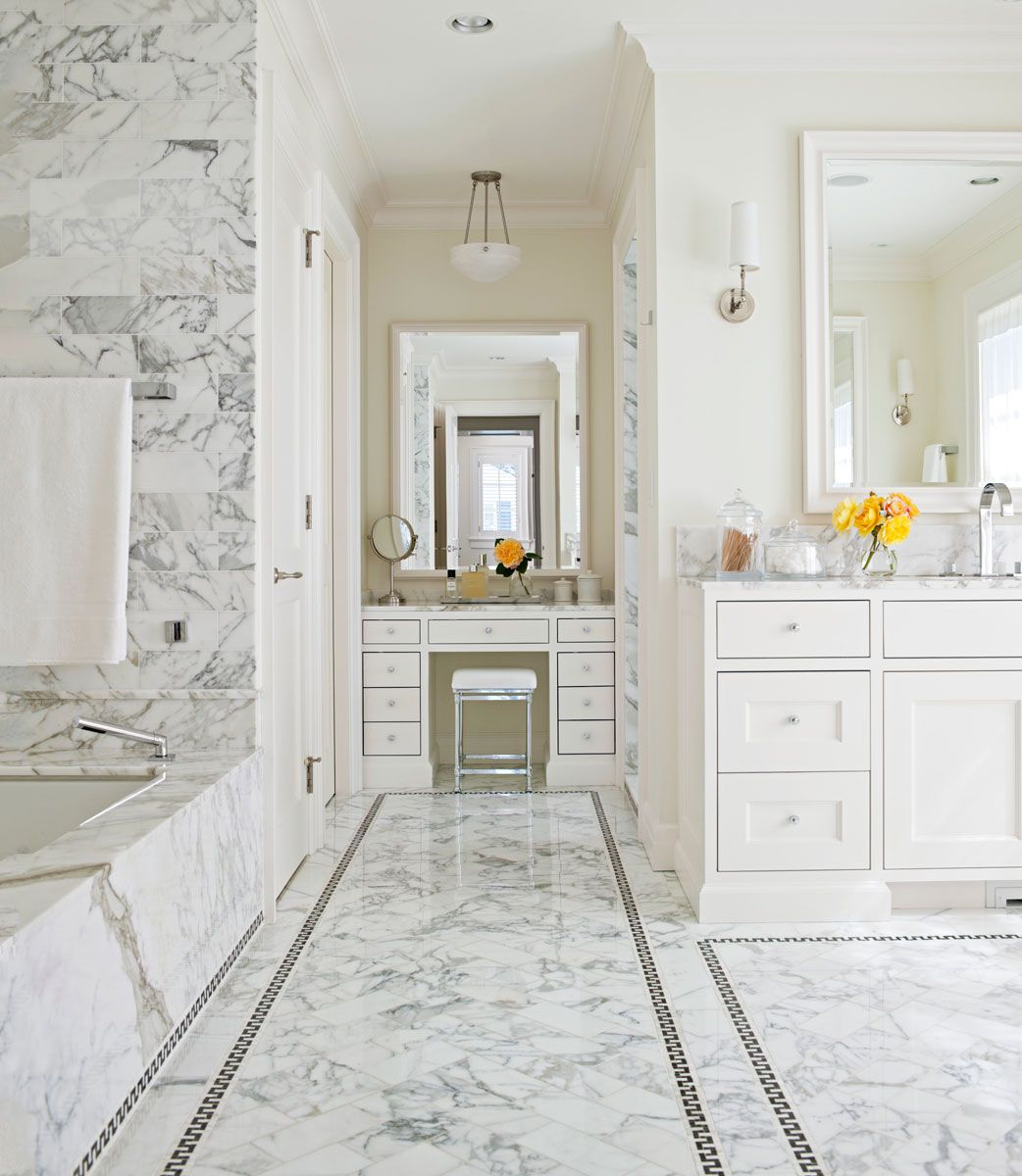 Marble Design Ideas For Your Master Bath Bathroom Interior
