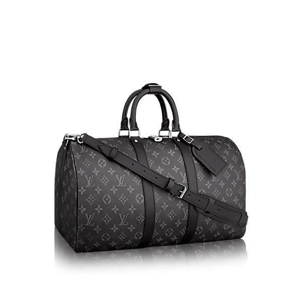 93c692c053 LOUIS VUITTON Keepall 55 Bandoulière. #louisvuitton #bags #canvas ...