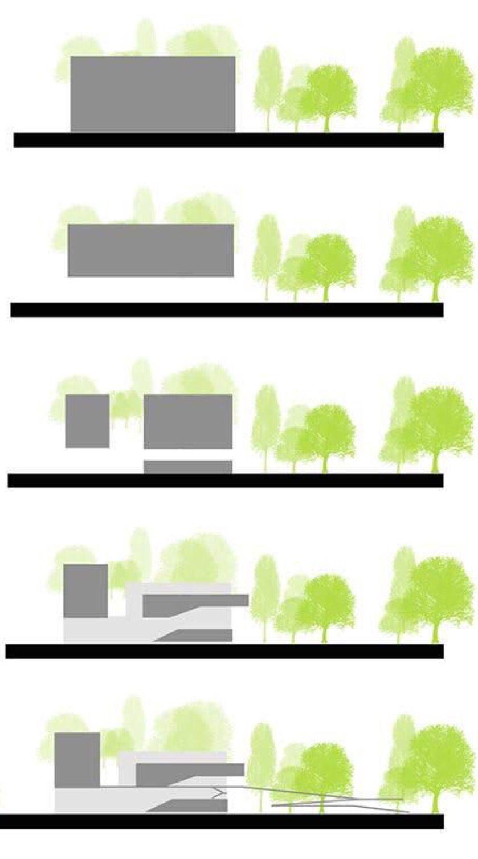 concept diagram section architecture concept pinterest