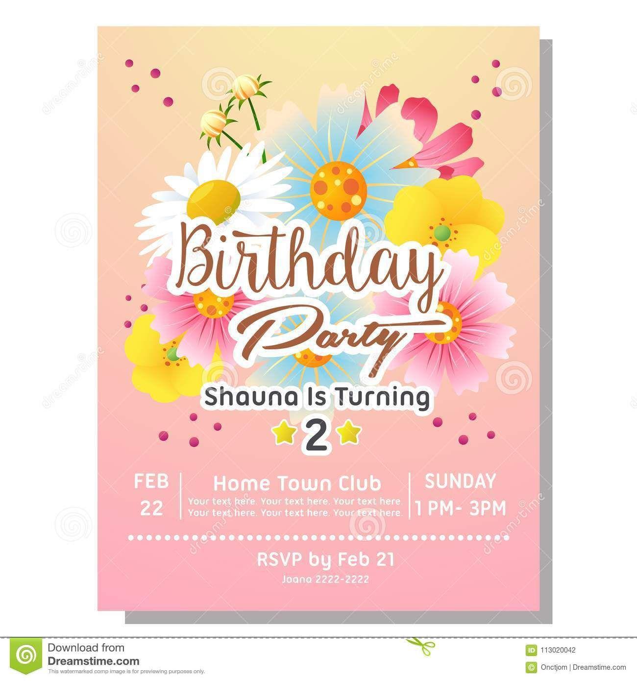 Einladung 2 Geburtstag